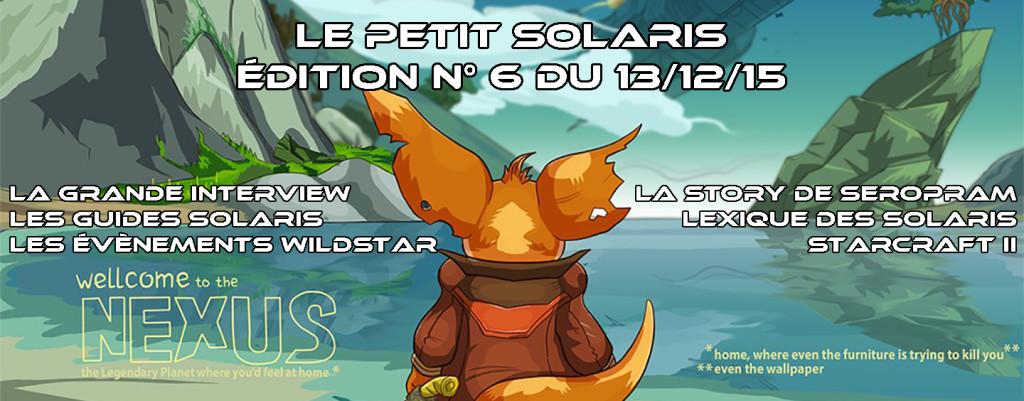 Petit Solaris n°6